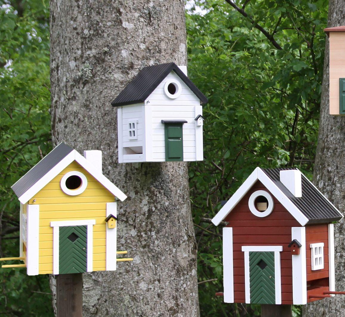 schwedenhaus rotbraun wildlife garden vogel und naturschutzprodukte einfach online kaufen. Black Bedroom Furniture Sets. Home Design Ideas