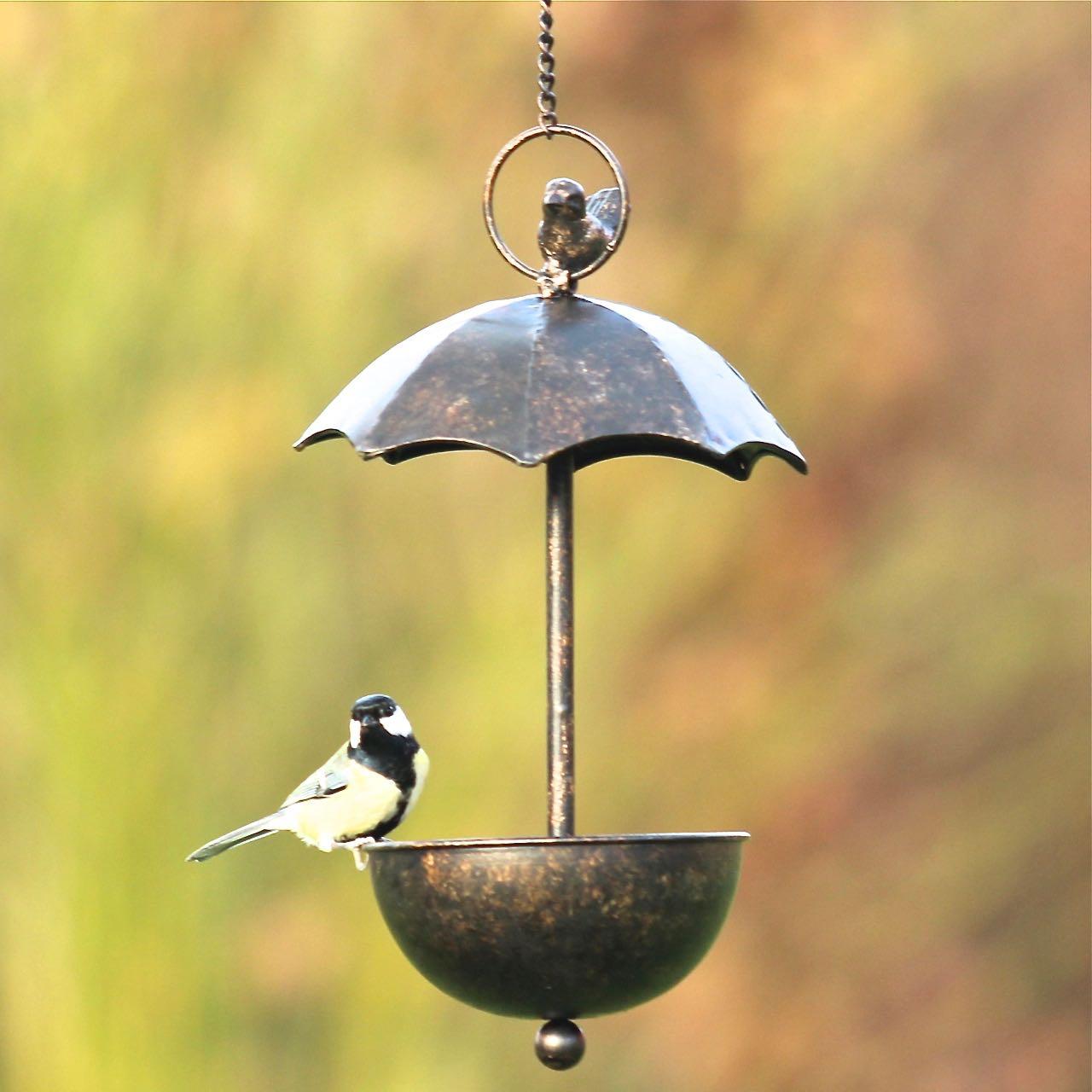 vogeltr nke mit schirm zum h ngen vogel und naturschutzprodukte einfach online kaufen. Black Bedroom Furniture Sets. Home Design Ideas