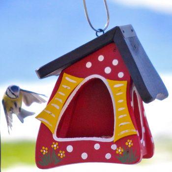 vogelvilla futterhaus ist der treffpunkt im garten vogel. Black Bedroom Furniture Sets. Home Design Ideas