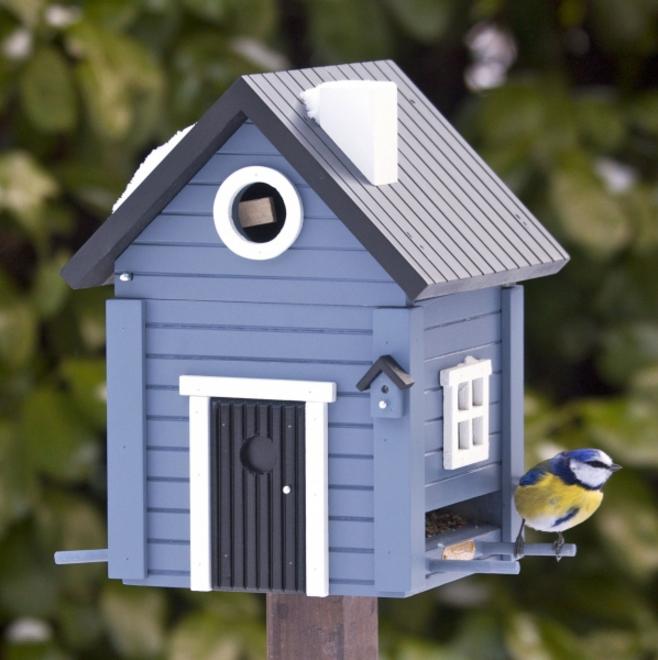 Schwedenhaus blau  Schwedenhaus blau Wildlife Garden - Vogel- und Naturschutzprodukte ...