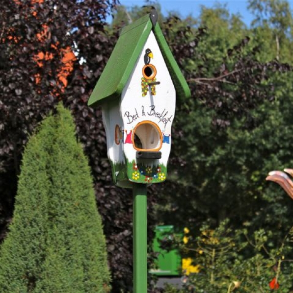 vogelvilla vogelhaus futterhaus nistkasten insektenhotel das original vogel und. Black Bedroom Furniture Sets. Home Design Ideas