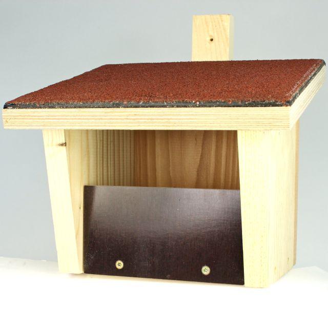 nistkasten halbh hlenbr ter nischenbr ter vogel und. Black Bedroom Furniture Sets. Home Design Ideas