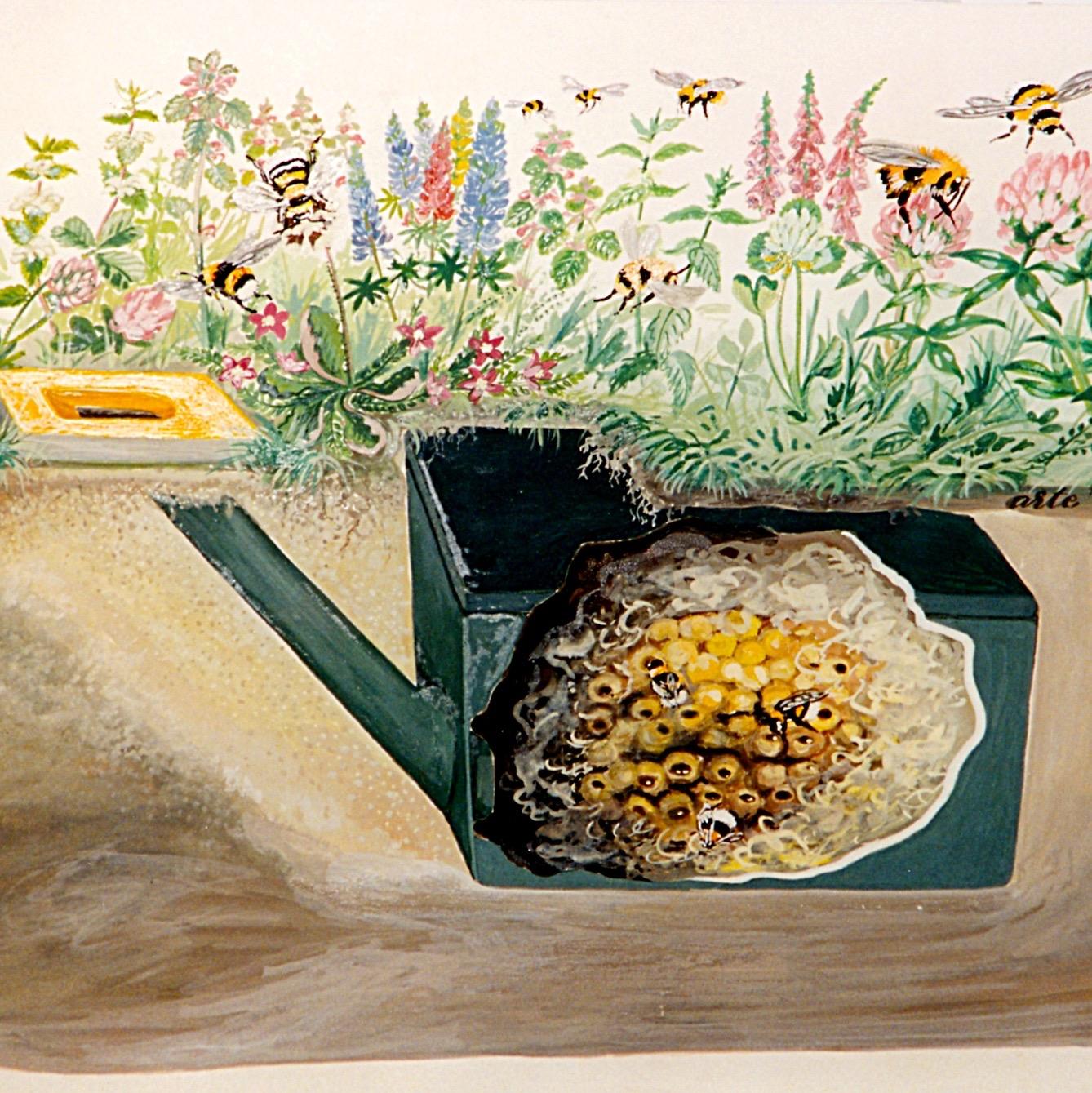 schwegler hummelnistkasten unterirdisch vogel und naturschutzprodukte einfach online kaufen. Black Bedroom Furniture Sets. Home Design Ideas