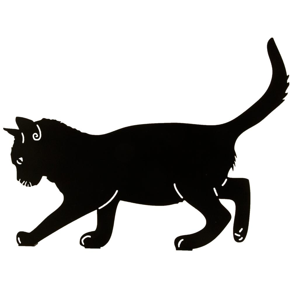 Silhouette Balancierende Katze - Vogel- und Naturschutzprodukte ...