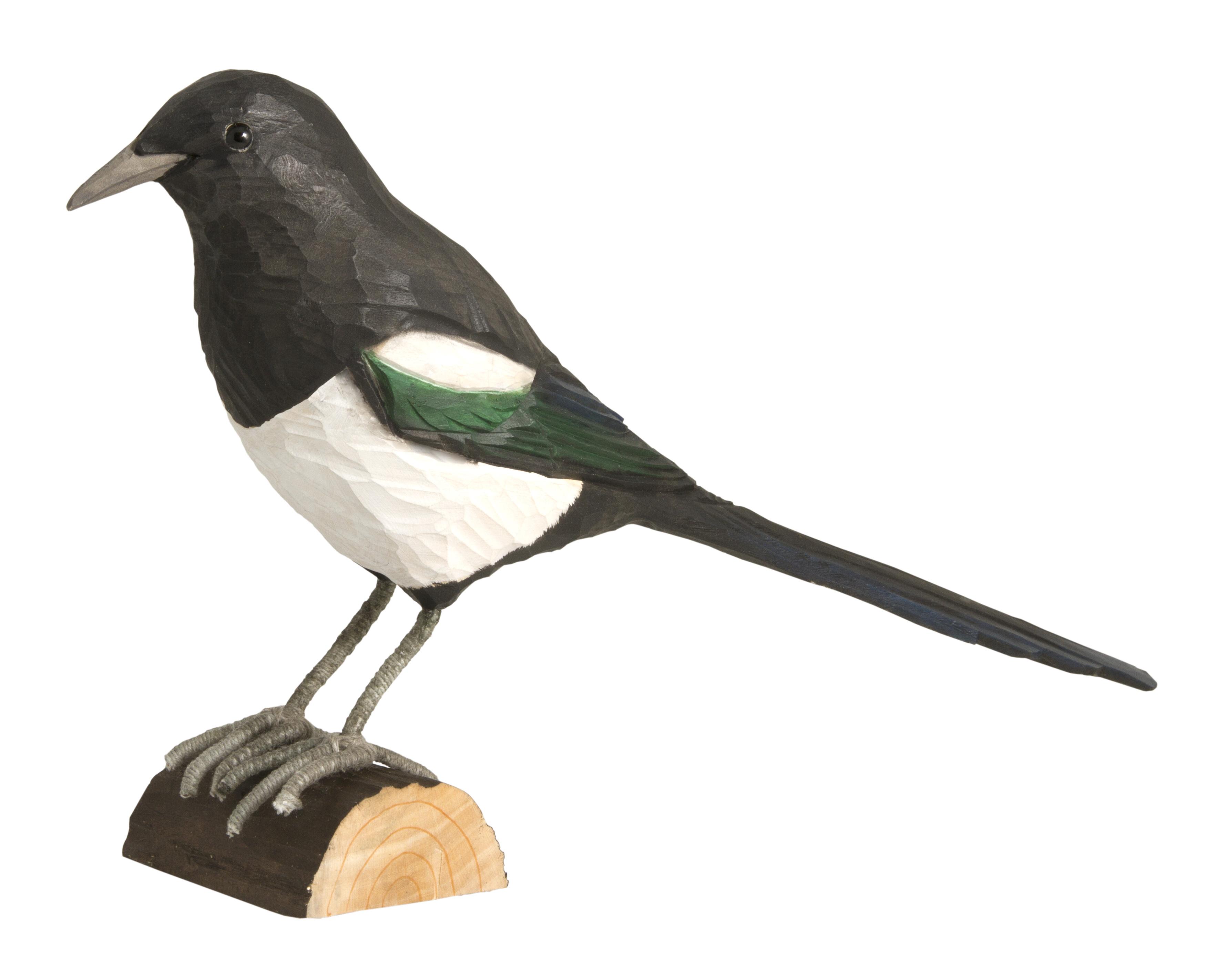 elster handgeschnitzt vogel und naturschutzprodukte einfach online kaufen. Black Bedroom Furniture Sets. Home Design Ideas