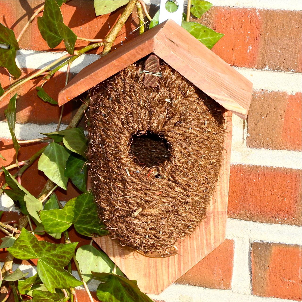 nestbeutel kokos zaunk nig vogel und. Black Bedroom Furniture Sets. Home Design Ideas