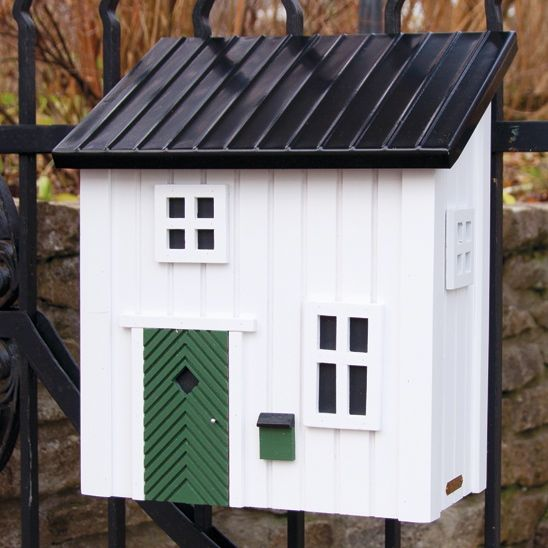 schwedenstil briefkasten wei vogel und naturschutzprodukte einfach online kaufen. Black Bedroom Furniture Sets. Home Design Ideas